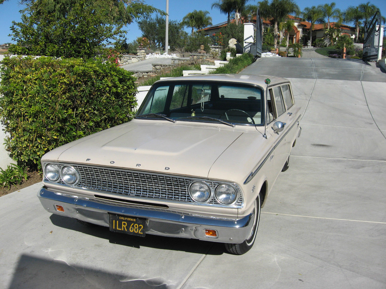 1963 ford fairlane ranch wagon stationwagon surfwagon california original for sale in riverside. Black Bedroom Furniture Sets. Home Design Ideas