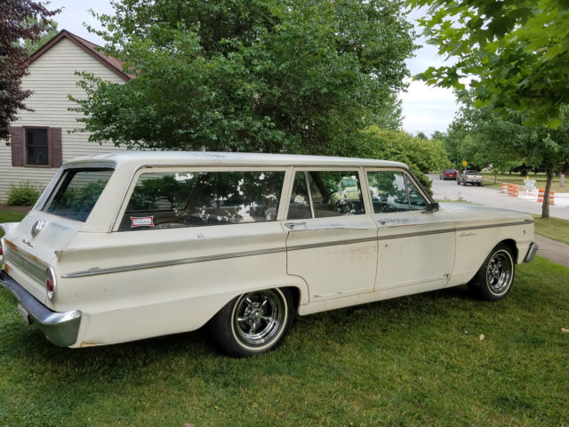 1963 Ford Fairlane Station Wagon 99 Rust Free