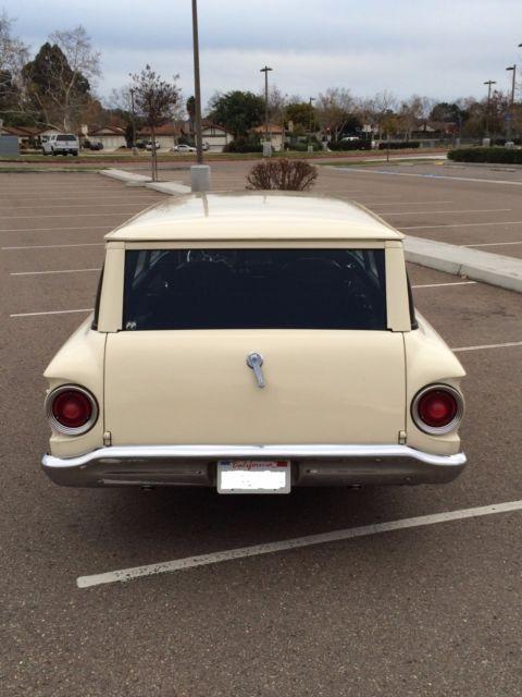 1963 Ford Falcon 2 Door Wagon