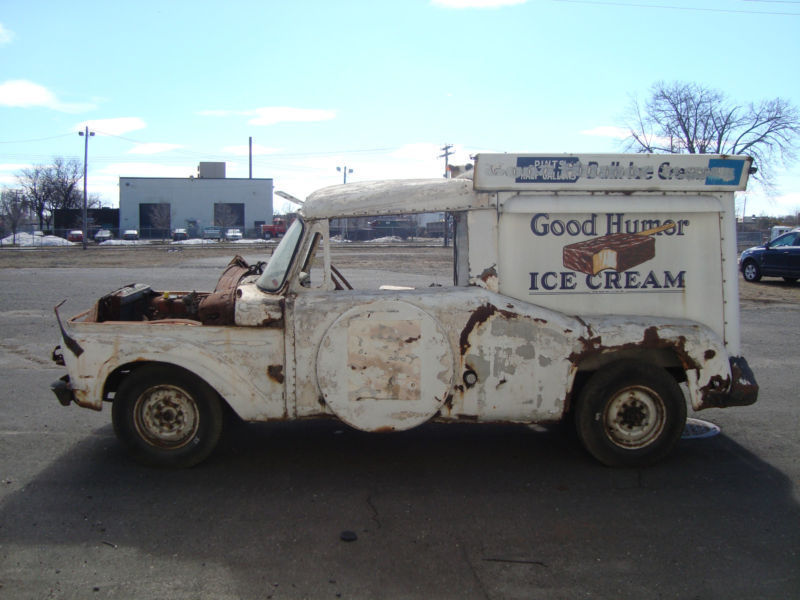 Classic Ford Trucks For Sale >> 1963 Ford Good Humor Ice Cream Truck Antique cold plate freezer $8,900.00