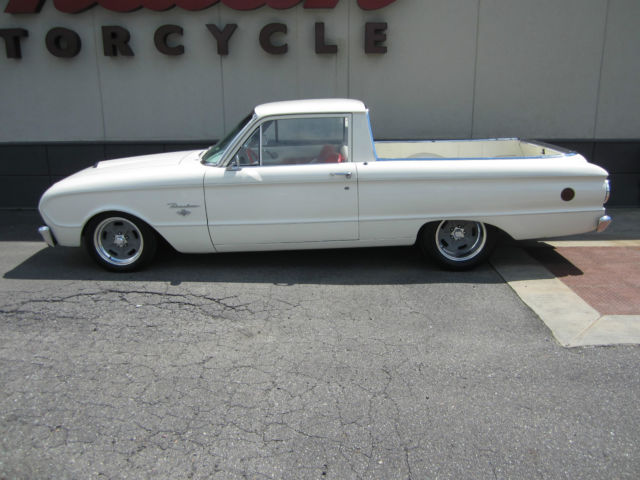 100952 1963 Ford Ranchero Falcon Lowered Hot Rod 289 5 Speed Rust Free
