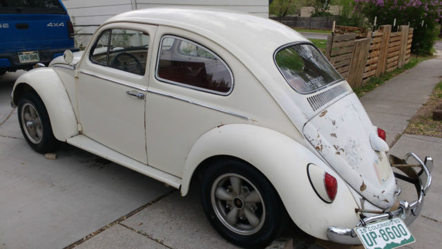 1963 good running classic vw volkswagen bug beetle great herbie car runs good. Black Bedroom Furniture Sets. Home Design Ideas
