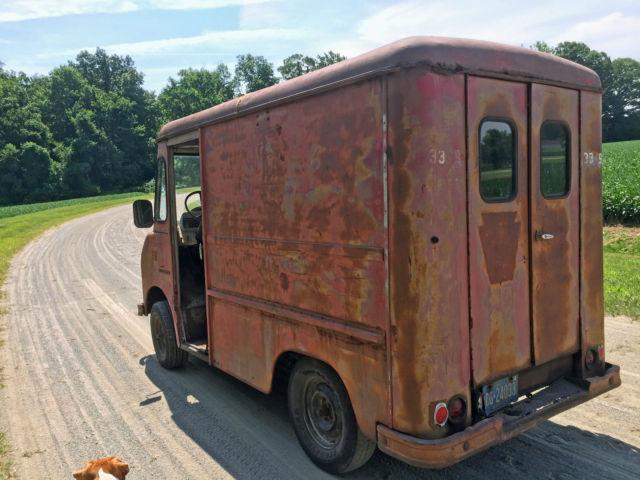 1963 international harvester metromite metro food truck step van vintage. Black Bedroom Furniture Sets. Home Design Ideas