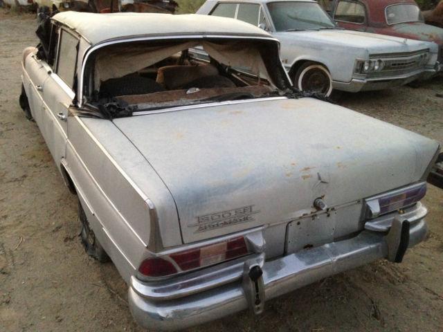1963 mercedes benz 300se long fintail heckflosse sedan for Mercedes benz san bernardino