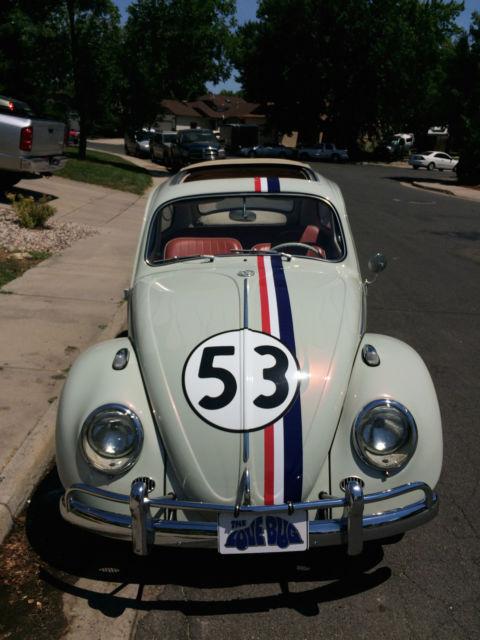 1963 VW Beetle Herbie Fully Animatronic Volkswagen Love Bug Movie Car