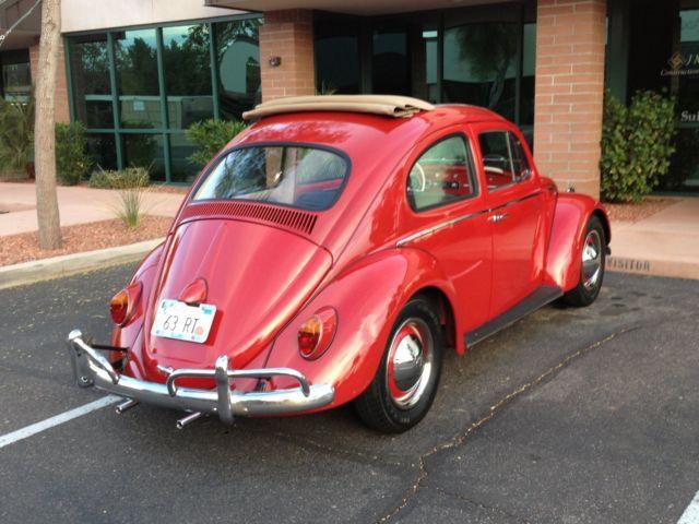1963 Vw Bug Ragtop