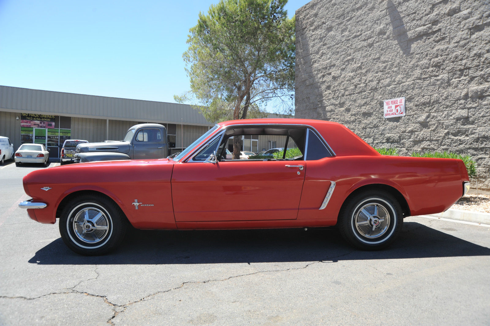 1964 1 2 1965 ford mustang coupe hurst 4 speed matching s new tires nice. Black Bedroom Furniture Sets. Home Design Ideas