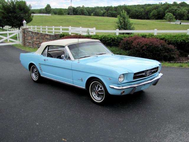 1964 1 2 ford mustang convertible nice. Black Bedroom Furniture Sets. Home Design Ideas