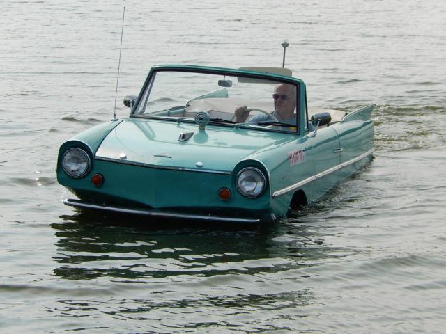 Amphibious Vehicle For Sale >> 1964 64 Amphicar Convertible Amphibious Boat Car * Water ...