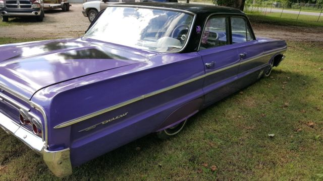 Belair Auto Auction >> 1964 Chevrolet Bel air sedan 4 door custom chevy belair straight 6 auto NICE
