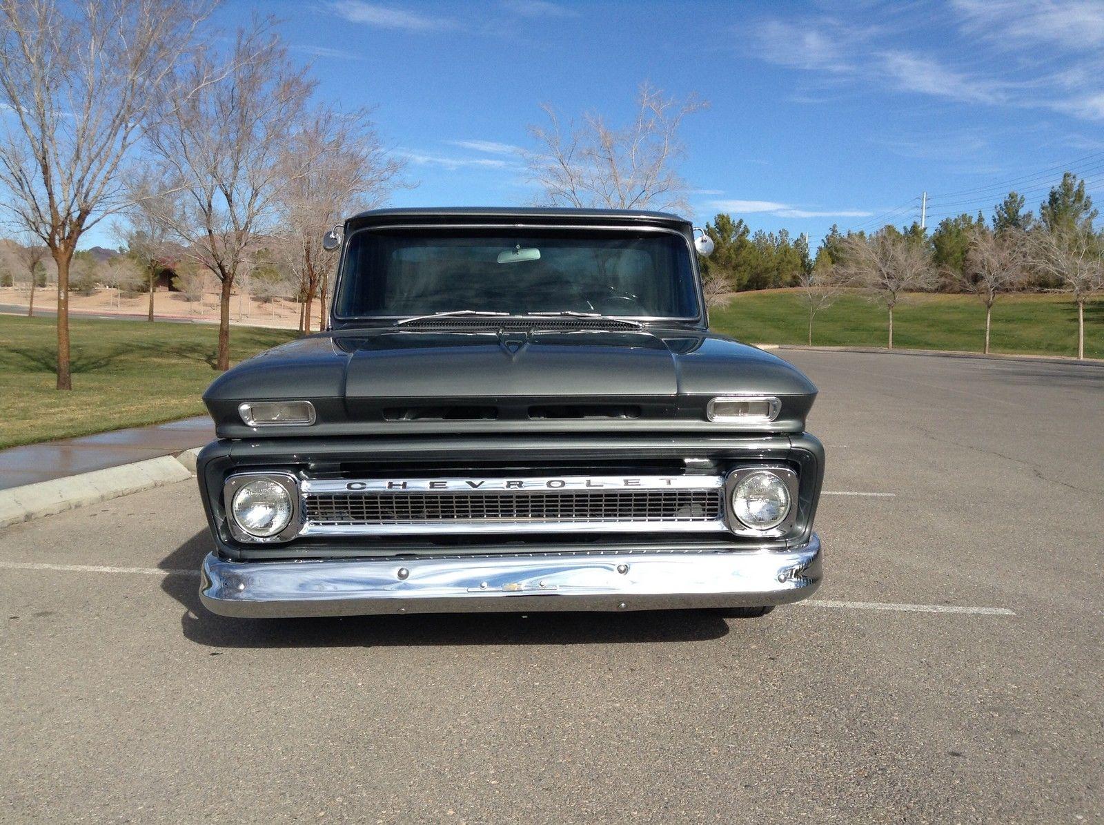 1964 Chevrolet C 10 Custom Cab Short Bed Big Window Pickup For Sale Chevy Truck Inner Fender In Boulder City Nevada United States