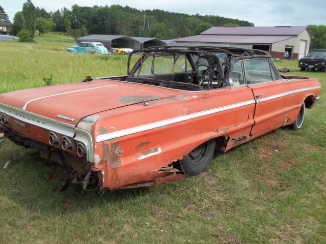 1964 Chevrolet Impala SS Convertible Parts car/Project ...