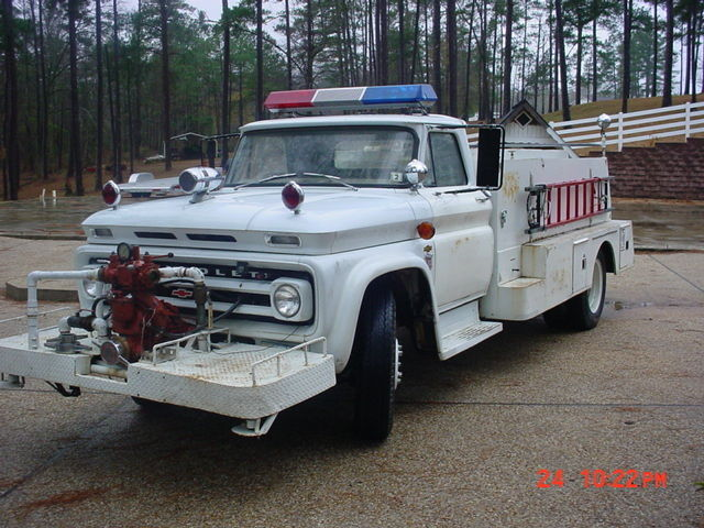 1964 Chevy C 60 Fire Truck For Sale In Macon Georgia United States