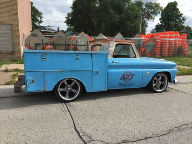 1964 Chevy C10 Rat Rod Utility Bed Truck