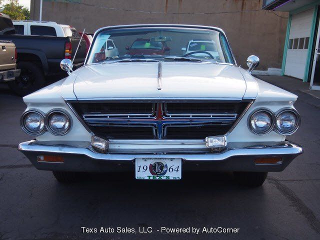 1964 chrysler 300k white with black roof convertible 1964 chrysler 300. Cars Review. Best American Auto & Cars Review