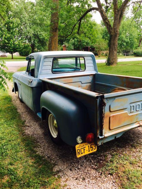 1964 Dodge D100 Short Bed Step Side