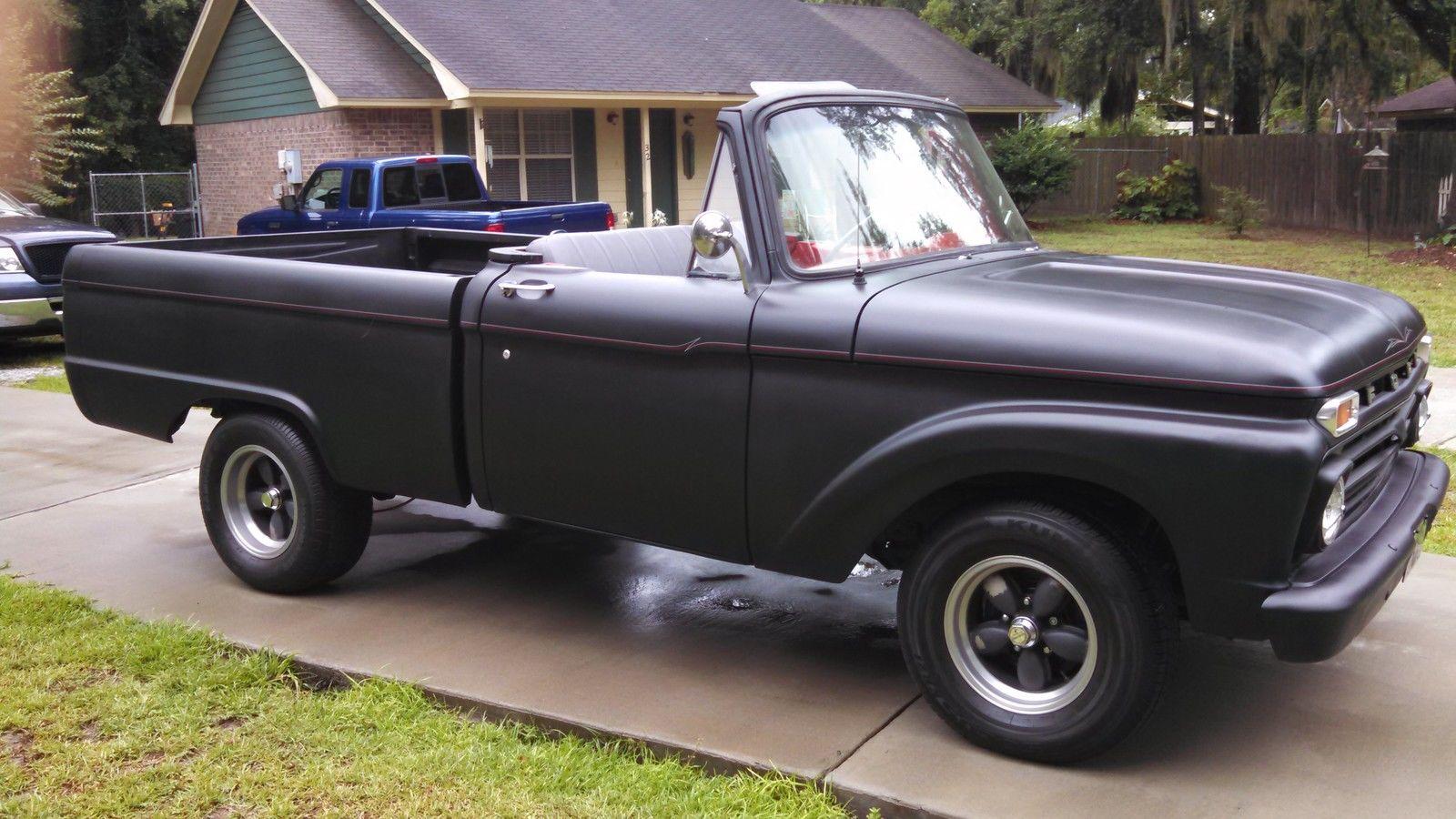 1964 Ford F100 Custom Convertible Black
