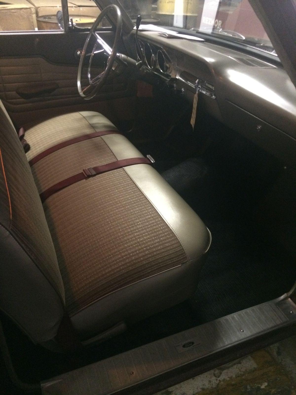 1964 Ford Fairlane 4dr Hardtop V8 260 Standard Trans Bucket Seats