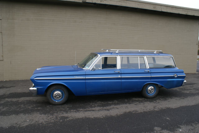 1964 Ford Falcon Station Wagon 170 Six Cylinder Automatic