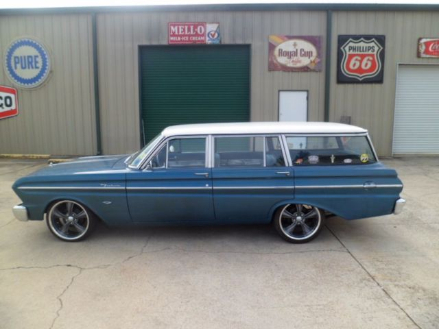 1964 Ford Falcon Wagon 260 V8 Engine Auto P S New Tires Wheels