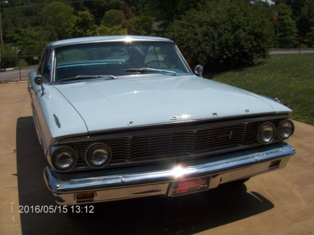 1964 ford galaxie 500 fastback automatic 2 door. Black Bedroom Furniture Sets. Home Design Ideas