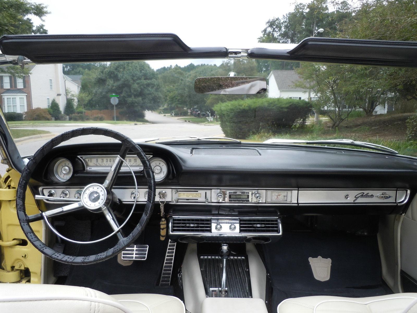 1964 Ford Galaxie 500xl Convertible Z Code 390ci Auto Ps Power 500 Xl Windows A C