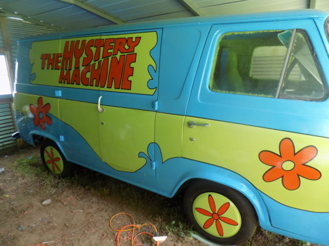 1964 ford van mystery machine. Black Bedroom Furniture Sets. Home Design Ideas