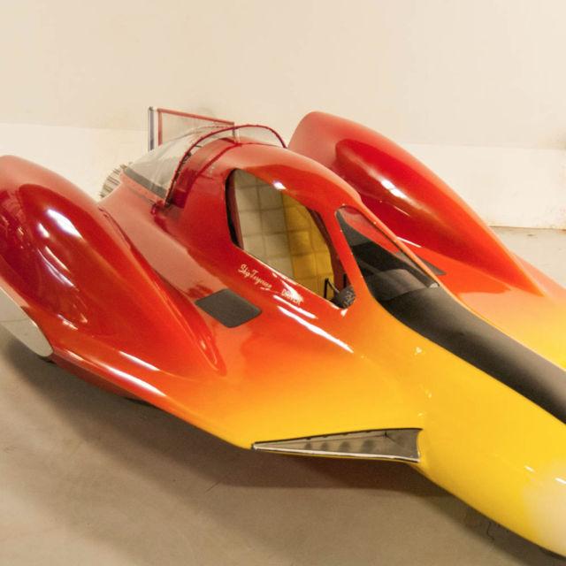 1964 George Barris Custom Turbosonic Dragster, Museum