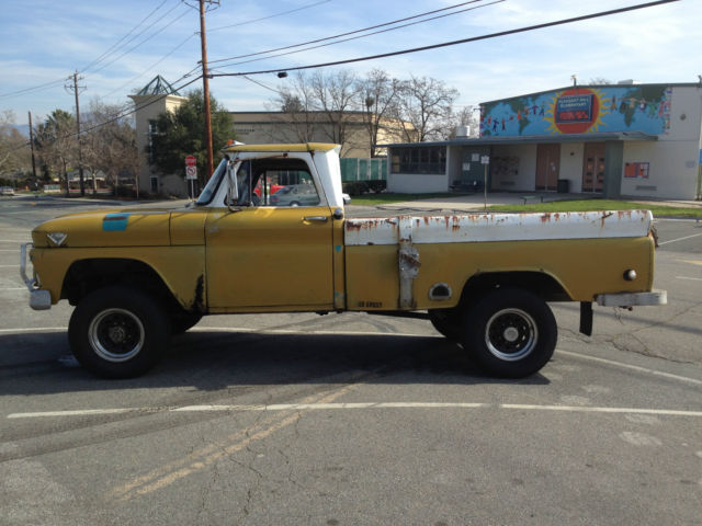 1964 gmc factory 4wd 4x4 3 4 ton lwb fleetside truck pickup sierra chevrolet. Black Bedroom Furniture Sets. Home Design Ideas