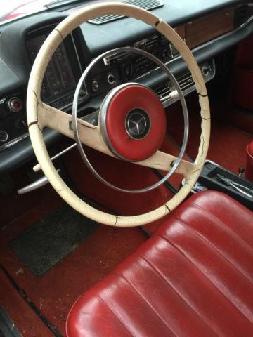 1964 Mercedes 190d Fintail 190dc Heckflosse Diesel W110 W111 W112