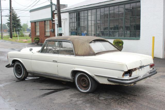 1964 mercedes 220se oprea coupe manual gearbox. Black Bedroom Furniture Sets. Home Design Ideas