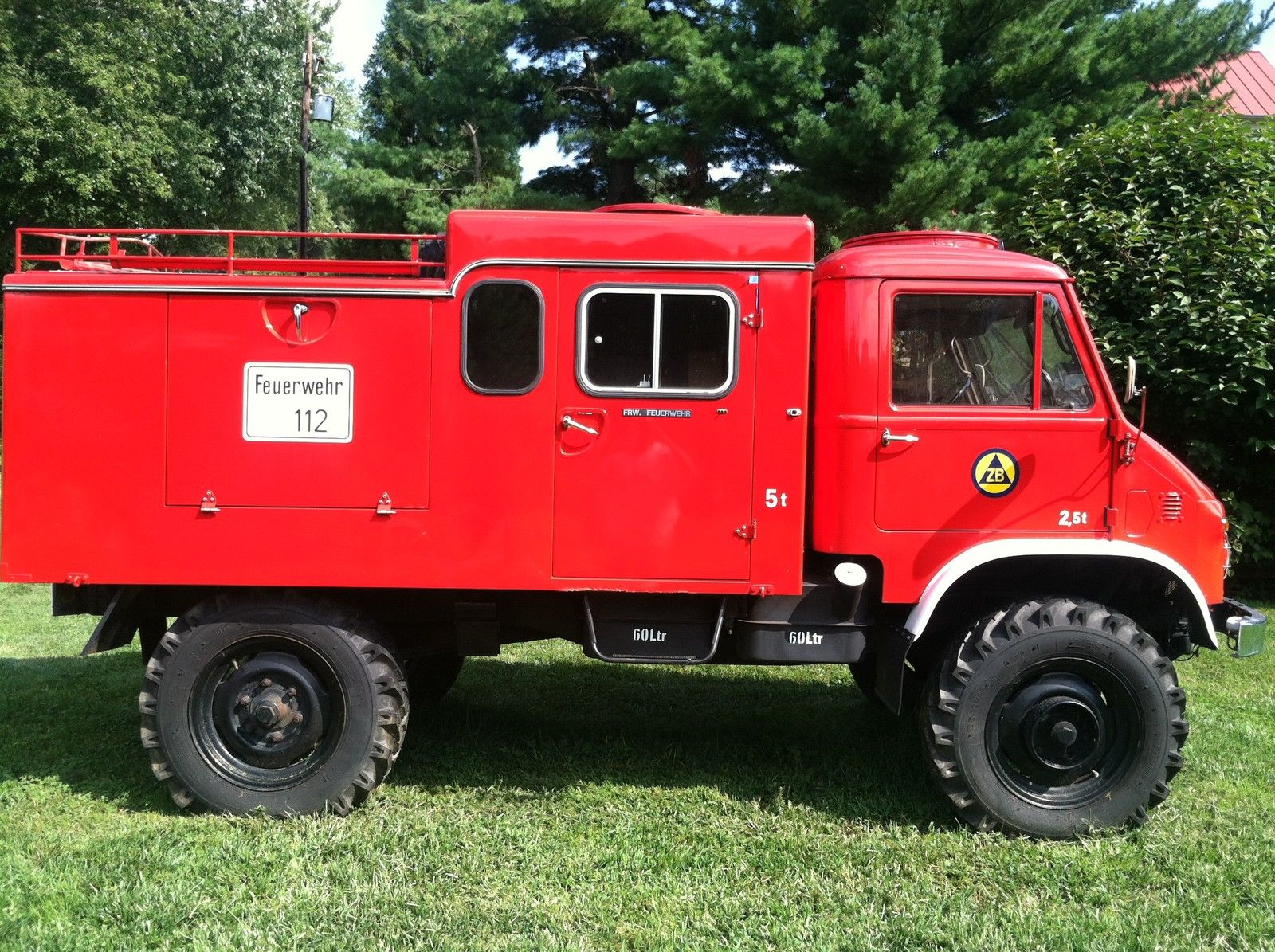 Unimog For Sale Usa >> 1964 Mercedes Benz Unimog 404 Fire Pumper Truck with ...