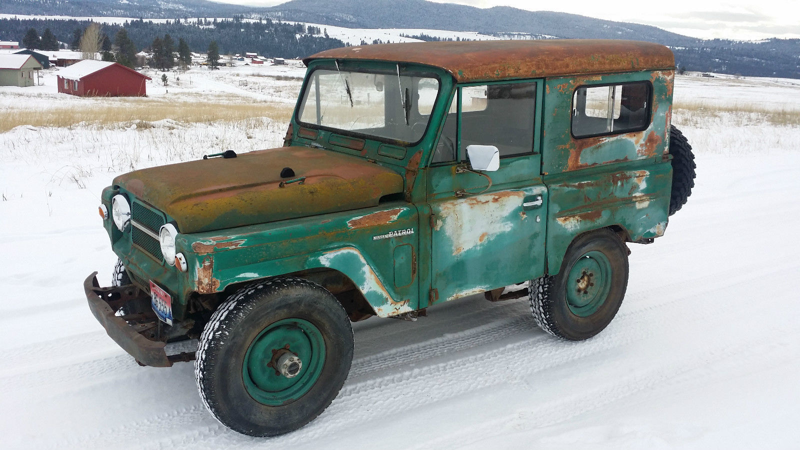 Nissan Patrol For Sale Usa >> 1964 NISSAN PATROL SOFT TOP 4X4 L60: RUNS NICE AND DRIVES, SOLID, CONVERTIBLE