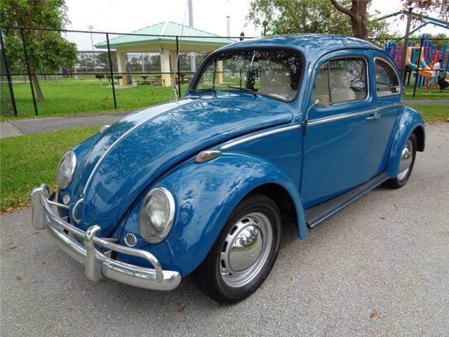 1964 VW Beetle Made In Germany 1200cc 4-Cylinder 4-Speed Manual