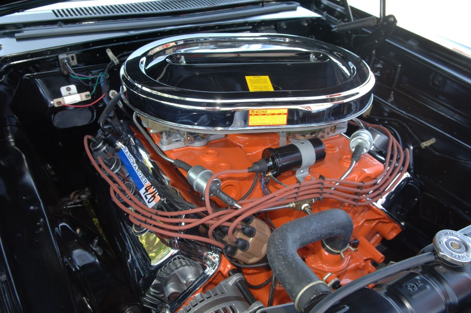 1965 426 Race Hemi Wo51 A990 Dodge Coronet Factory Light