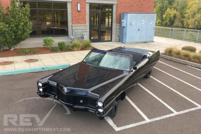 1965 Cadillac Coupe Deville Choptop Convertible Custom Lsx Ride