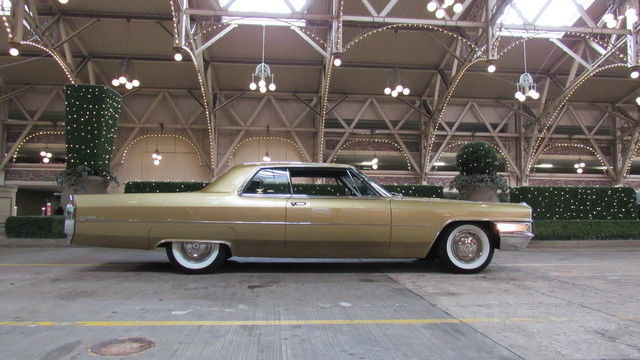 1965 Cadillac Coupe Deville Gorgeous Gold Drive Anywhere Quality
