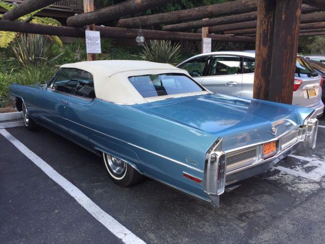 1965 Cadillac Deville Convertible California Car