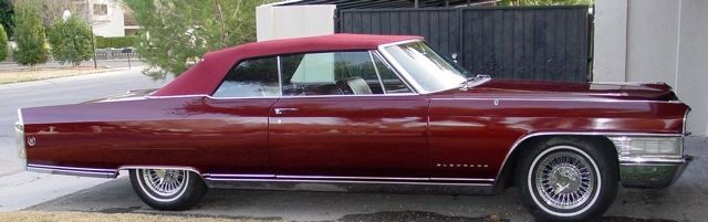 1965 Cadillac Fleetwood Eldorado Convertible 2 Door 7 0l