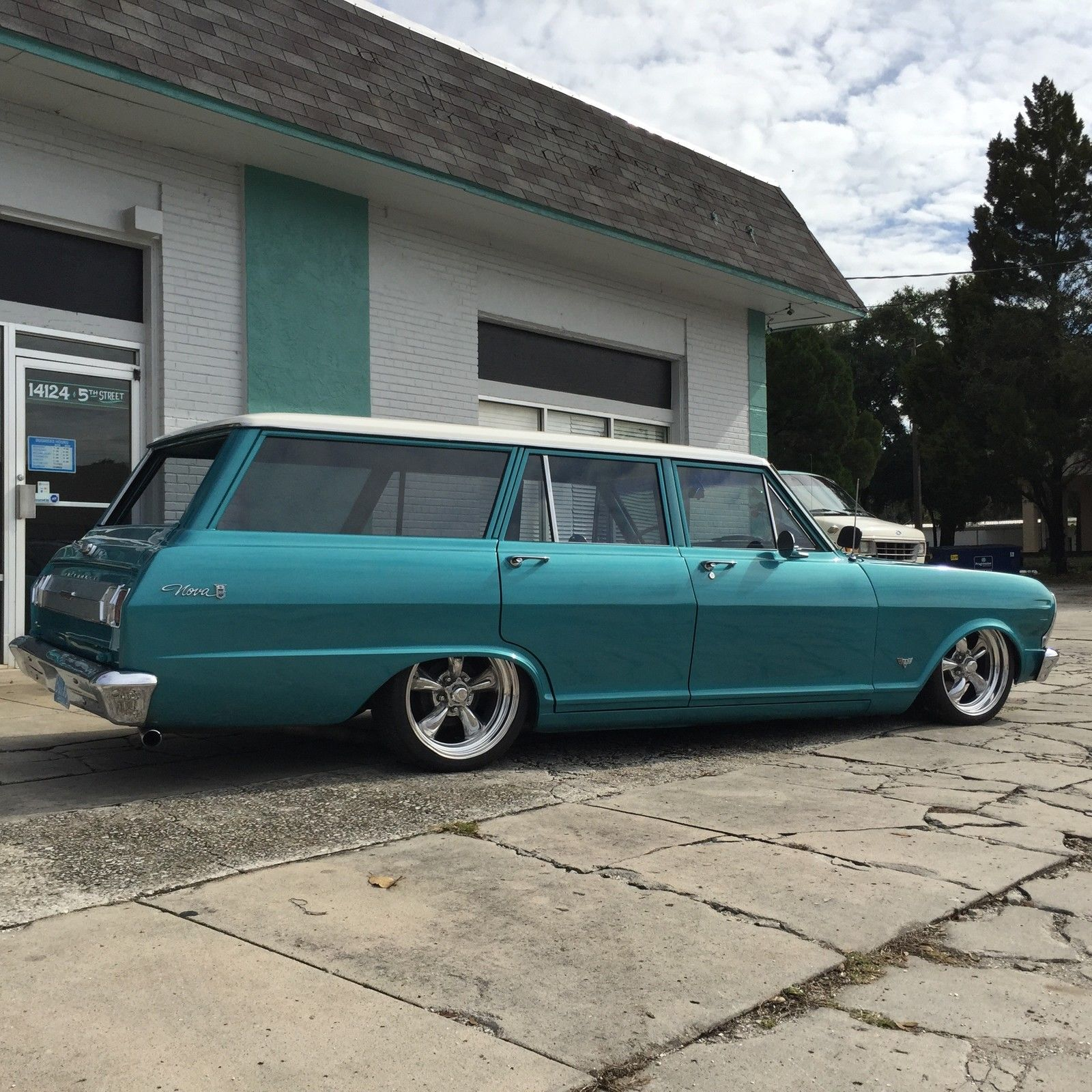 1965 Chevrolet Nova Station Wagon Air Ride Chevy II Hot