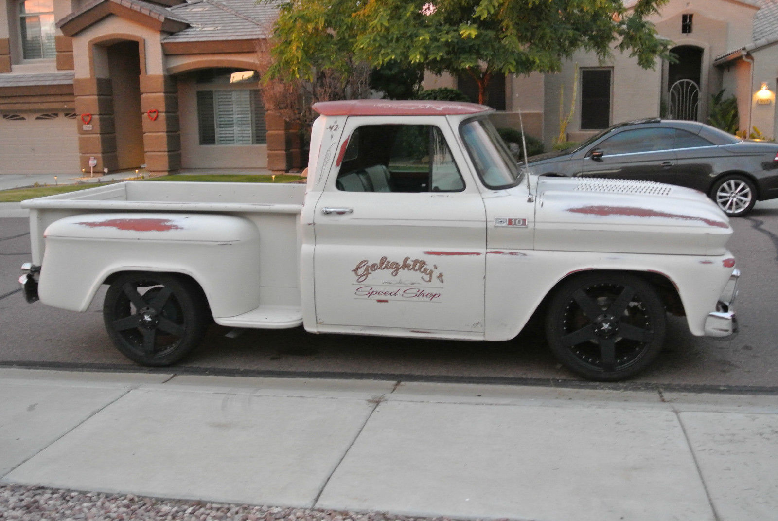 1965 Chevy Short Bed Step Side C10 Patina Paint Hotrod