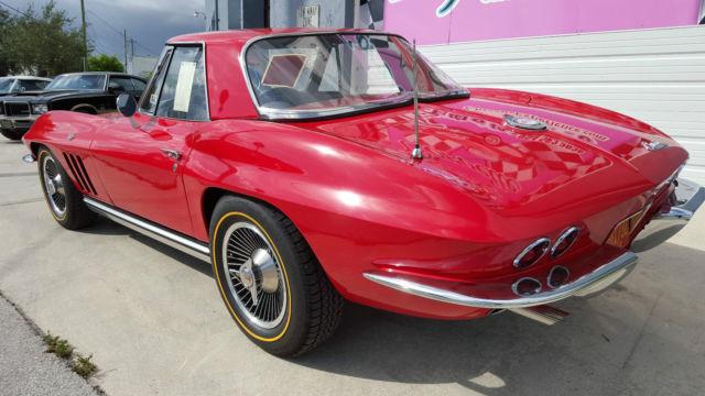 1965 Corvette Hardtop Convertible 327 365 Ncrs Top