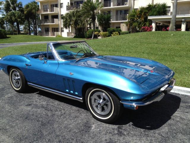 1965 corvette sting ray convertible. Black Bedroom Furniture Sets. Home Design Ideas