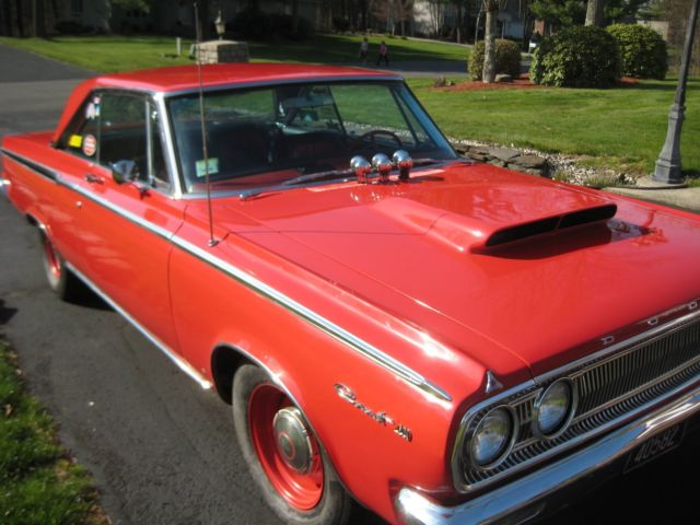 1965 Dodge Coronet Red 4 Speed 440 Motor