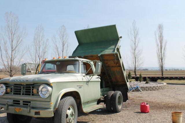 1965 dodge d500 dump truck. Black Bedroom Furniture Sets. Home Design Ideas