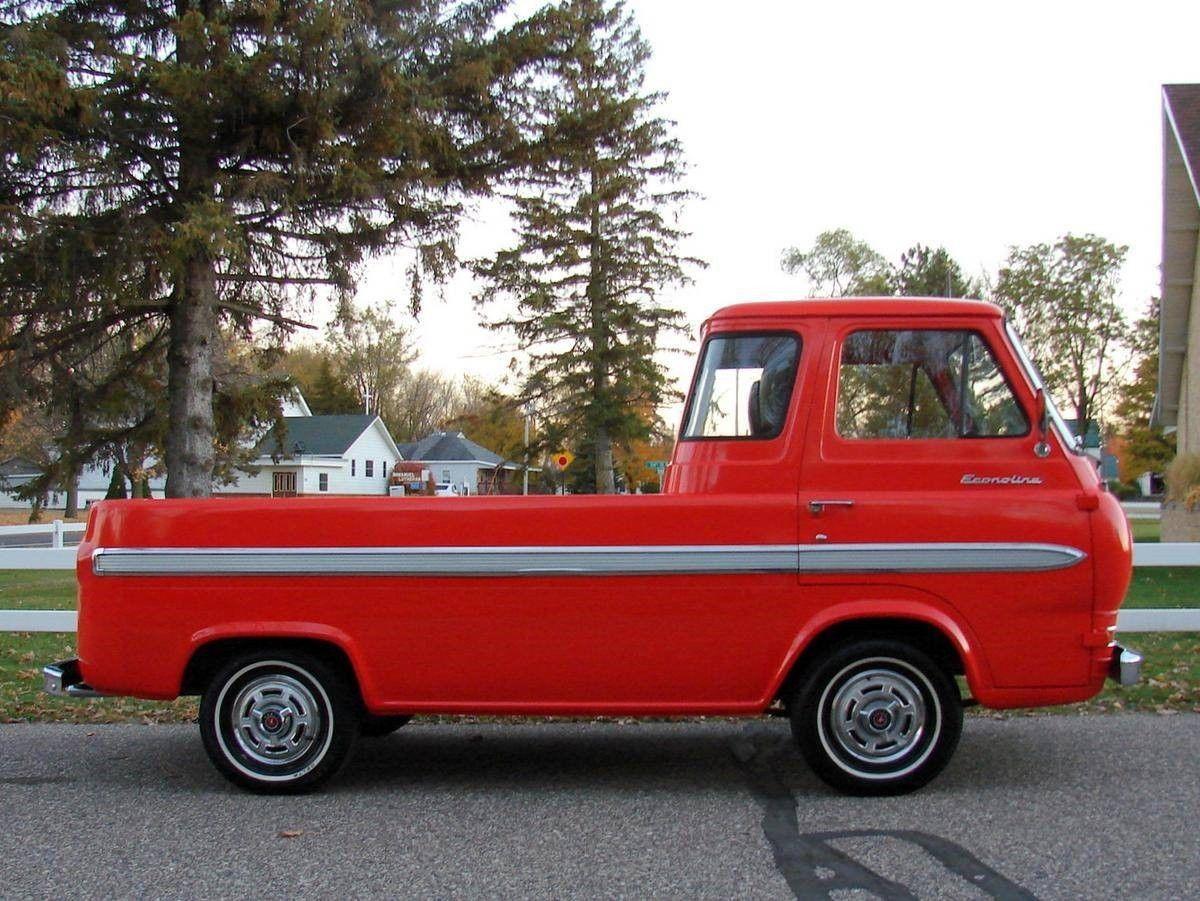 1965 ford econoline pick up truck e100 hot rod classic antique. Black Bedroom Furniture Sets. Home Design Ideas