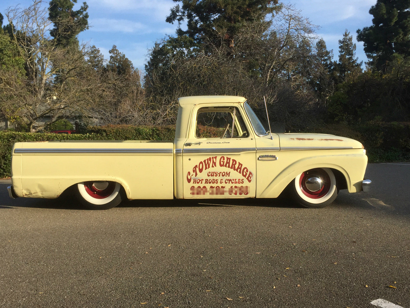 1965 ford f 100 rat rod truck. Black Bedroom Furniture Sets. Home Design Ideas