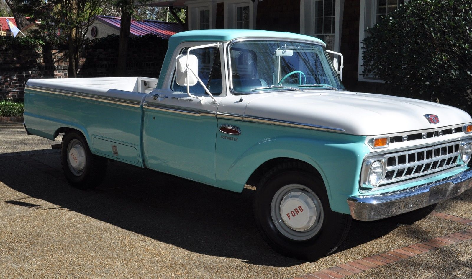 1965 Ford F-250 Twin-I-Beam Custom Cab Camper Special-IN RESTORED CONDITION
