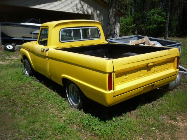 1965 ford f100 swb 2 ford trucks for sale 1 price. Black Bedroom Furniture Sets. Home Design Ideas