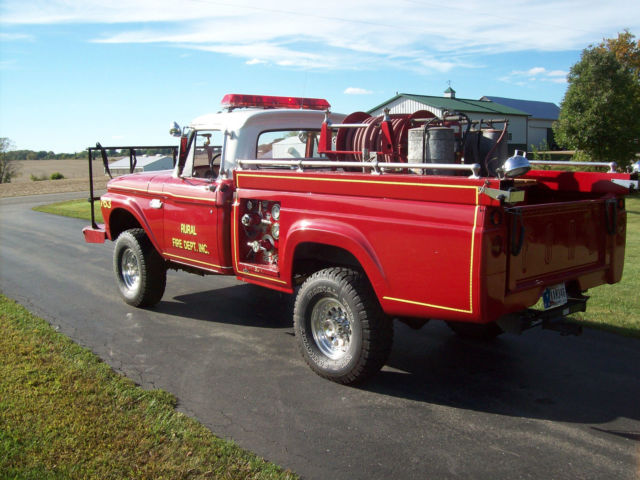 Used Cars Evansville In >> 1965 Ford F250 Truck. Original Fire Truck. Clean title ...